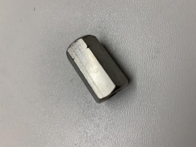 V2A Sechskant Langmuttern DIN6334 10 x M8 Verbindungshülse