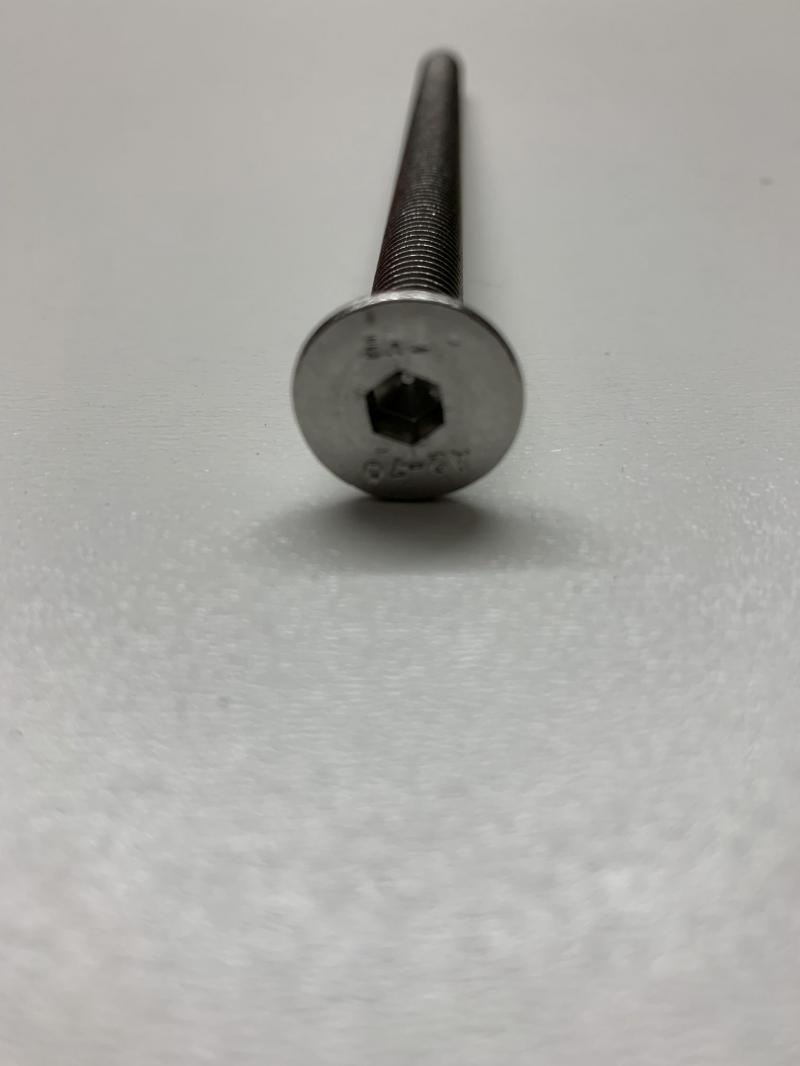 Senkkopfschraube Innensechskant M8 A2 Edelstahlschrauben nach DIN 7991