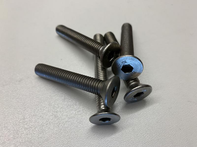 Senkkopfschraube Innensechskant M10 A2 Edelstahlschrauben nach DIN 7991